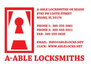 aable locksmiths of miami