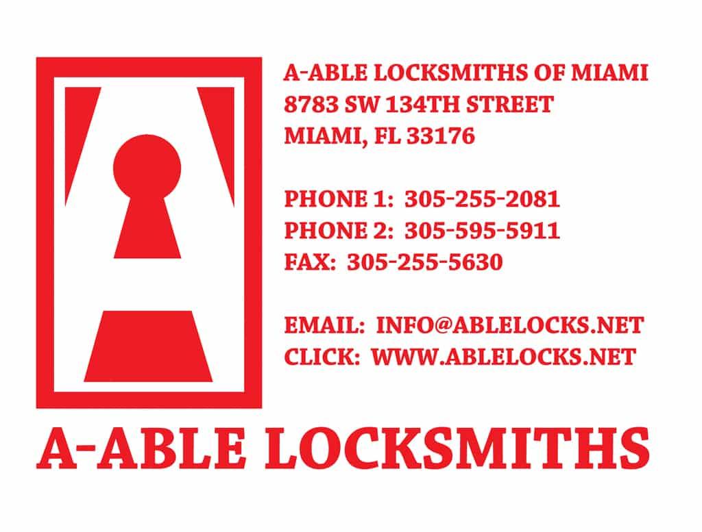 A-Able Locksmiths